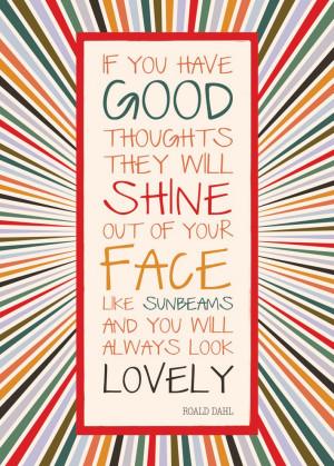 Roald Dahl Quote Poster
