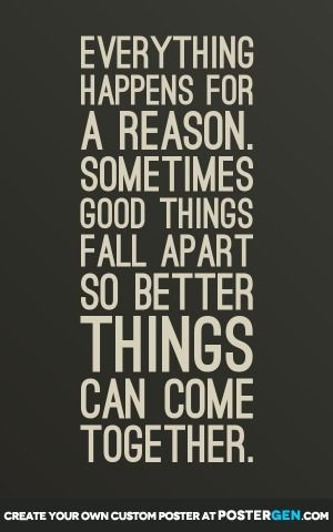 ... Things Fall, Better Things, Good Things, Fall Apartment, Quotes Poster