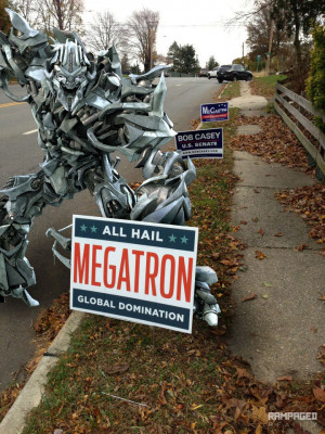 Too bad Megatron didn't win the elections