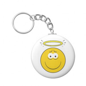 innocent_angel_smiley_face_keychain-r2be635f057aa461c85763d3f8a6b0bc5 ...
