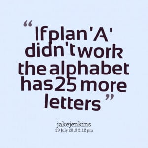 Quote Plan a Didn 39 t Work In
