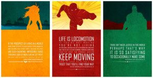 ... quotes that spoke most deeply to him. These pretty much kick the