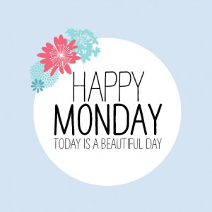 ... started off right! Today is a beautiful day! Make it a good #Monday