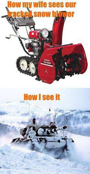 Snow Blower Attachment for ATV