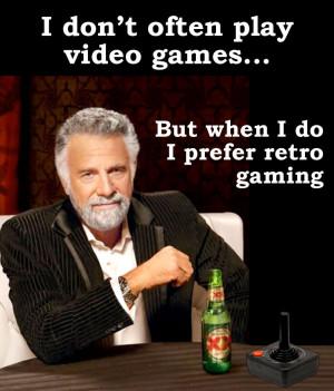 The world's most interesting man needs an Atari 2600