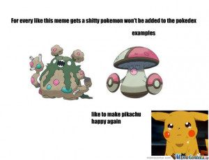 For The Love Of God Stop Making Shitty Pokemon!