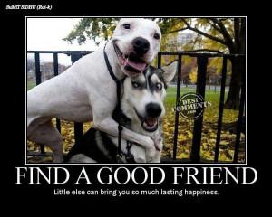 Find a good friend
