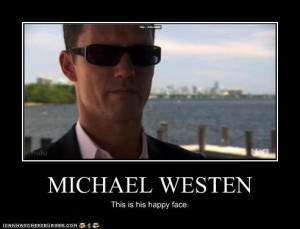 Michael Westen's Happy Face by Azimov49