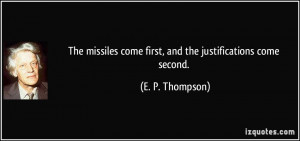 More E. P. Thompson Quotes