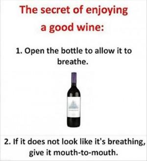 Today I wine....