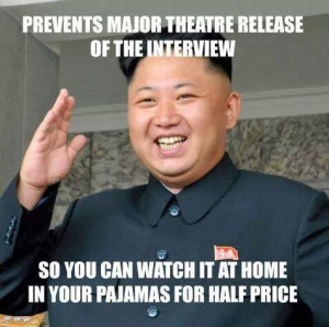 Prevents Release of The Interview