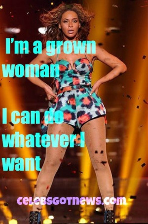 Grown Woman .....
