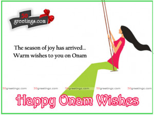 Warm Onam Wishes