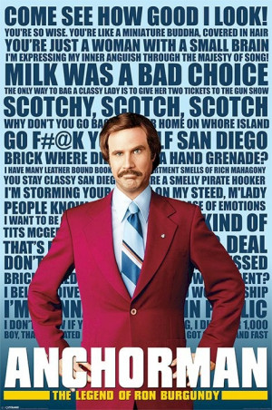 Will Ferrell Anchorman Quotes 2004 adam mckay - will ferrell