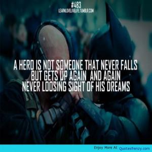 ... Batman Real Inspiringquotes Hero Superheroes Motivationalquotes Quote