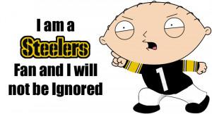 Stewie Griffin - Steelers Fan