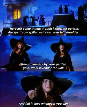 Witches ... Practical Magic