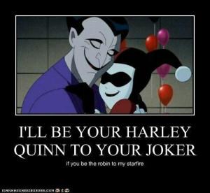 Harley and Joker