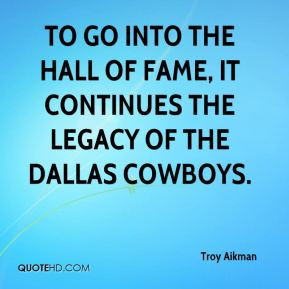 Troy Aikman Top Quotes
