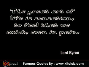 You Are Currently Browsing 15 Most Famous Quotes By Lord Byron
