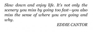 Quote Eddie Cantor The Artist's Way