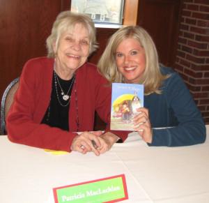 Authors Patricia Maclachlan & Stephanie Robinson