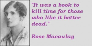 Rose macaulay famous quotes 3