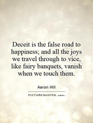 Deceit Quotes