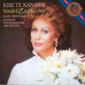 have been a fan of Dame Kiri Te Kanawa for many years, actually ...