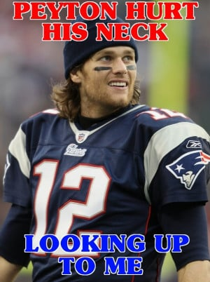 The Tom Brady Facts Tumblr is gonna start kicking into high gear as ...