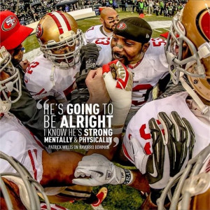SF 49er Patrick Willis quote re: Navarro Bowman after Bowman's ...