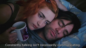 eternal sunshine, jim carrey, kate winslet, movie, quote