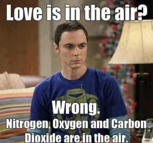 Nooo! you are wrong, how love can be in the air?