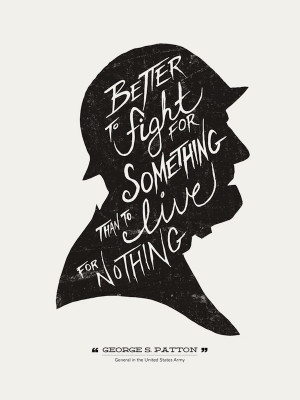 Hand-Lettered Typographic Posters Of Quotes From Famous People
