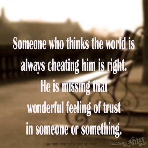 Quotes About Trusting Trust quotes
