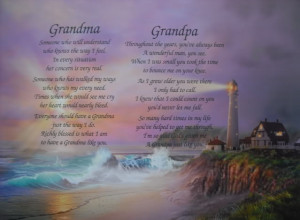 Details about GRANDMA & GRANDPA PERSONALIZED POEMS CHRISTMAS GIFT