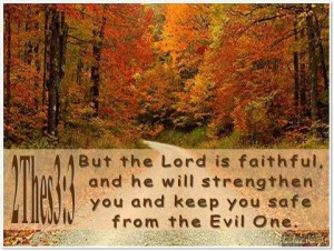 Pretty fall scene, Great Bible verse! | It's a 'Fall Thing'!!