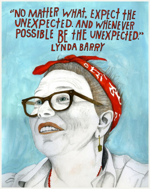 Reconstructionists: Lynda Barry – Part of a yearlong celebration of ...