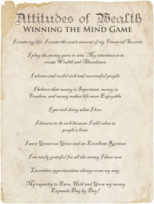 Winning the mind game.