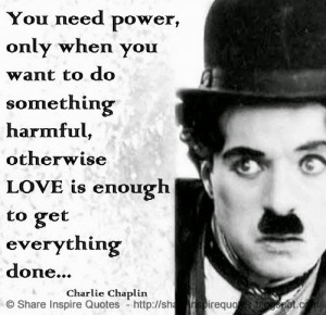 ... Charlie Chaplin | Share Inspire Quotes - Inspiring Quotes | Love