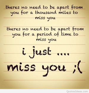 miss you a lot quotes