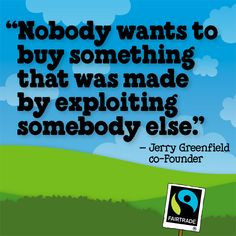 Jerry Greenfield (from Ben & Jerry's) #FairTrade