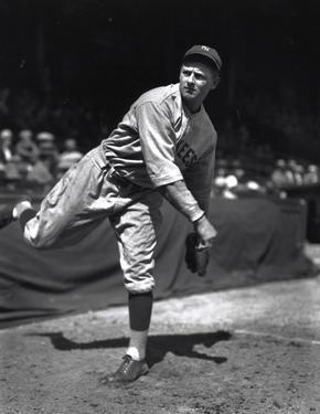 Waite Hoyt Baseball 1927