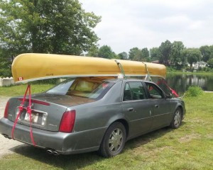 nothing like a canoe…. In watching water and shoreline, the paddling ...
