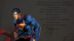 Superman Quotes And Sayings Comics - superman - superman
