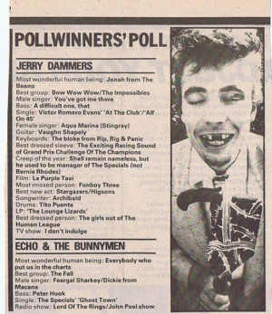 Quotes by Jerry Dammers