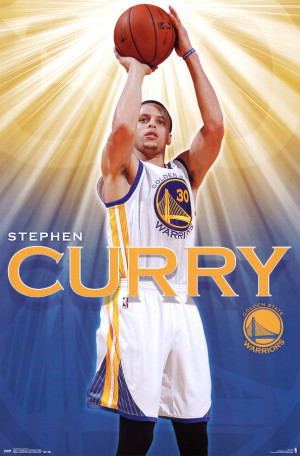 curry golden state warriors basketball poster stephen steph curry ...