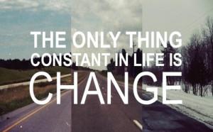 hate change! haha