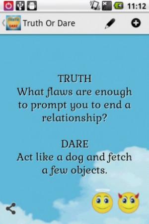 Truth or Dare Quotes
