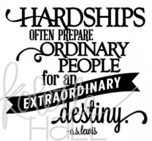 Hardships Prepare Ordinary People - Thumbnail